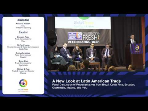 Global Trade Symposium 2016 - Latin American Trade