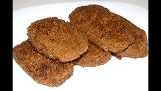 Котлеты из гречки и грибов - Cutlets from buckwheat and mushrooms