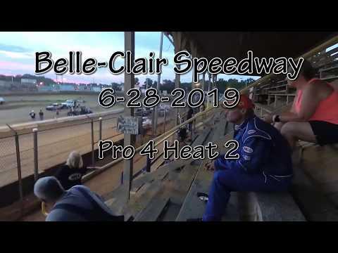 Belle Clair Speedway  Pro 4 Heat 2