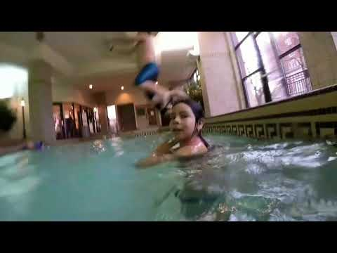 Swimming at the Embassy in Lincoln Nebraska