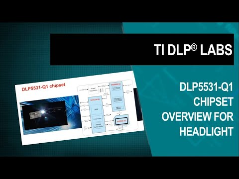 DLP5531-Q1 chipset for headlight