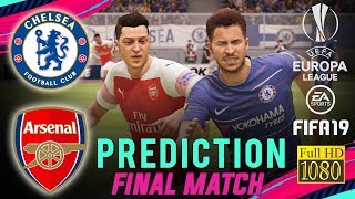 CHELSEA vs ARSENAL | FIFA 19 Predict ● UEFA Europa League Final | Broadcast Camera - 1080HD