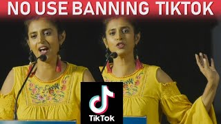 Kasthuri on Banning Tik Tok & its positives