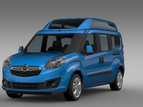 my slideshow3d model opel combo tour high roof lwb d 2015 at youtube. Black Bedroom Furniture Sets. Home Design Ideas
