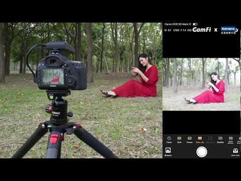 CamFi Pro 單眼無線取景控制器 | 產品介紹