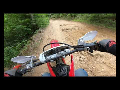 Hatfield-McCoy Trails (Pinnacle Creek) First Ride Ever! Pineville, West Virginia