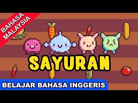 Lagu Belajar Bahasa Inggeris | Sayuran (Vegetables) | Lagu Melayu Kanak Kanak Terbaik | Bibitsku