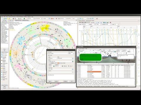 Delphic Oracle 7 Astrology Software @ Kepler.edu