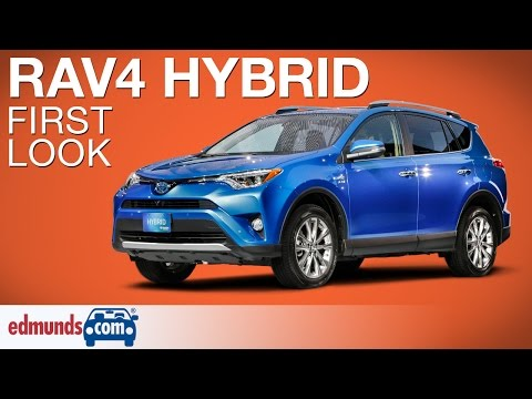 2016 Toyota RAV4 Hybrid First Look | New York Auto Show