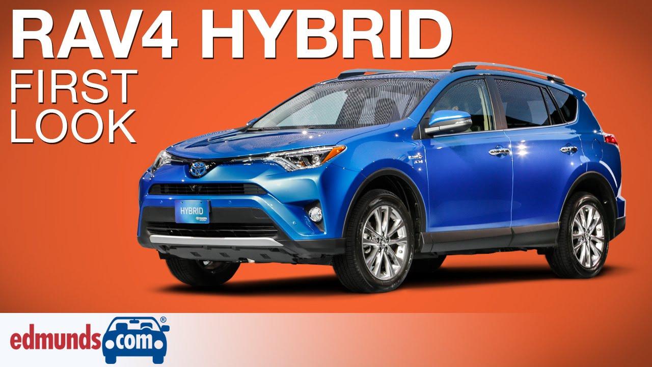 Brilliant 2016 Toyota RAV4 Hybrid First Look  New York Auto Show  YouTube