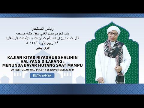 Download Buya Yahya - 2020-11-14 Hari Sabtu - Kitab Adab Sulukil Murid MP3 & MP4