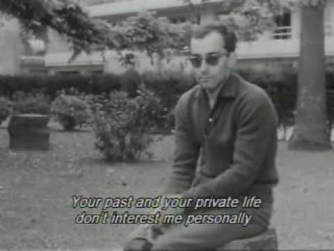 Jean-Luc Godard interview 1960