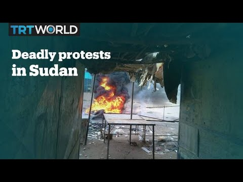 At least nine people have died in Sudan protests