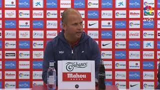 Rueda de prensa de José Alberto tras el Real Sporting vs Cádiz CF (1-0)