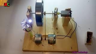 how to make free power bearing energy generator |all time running free generator