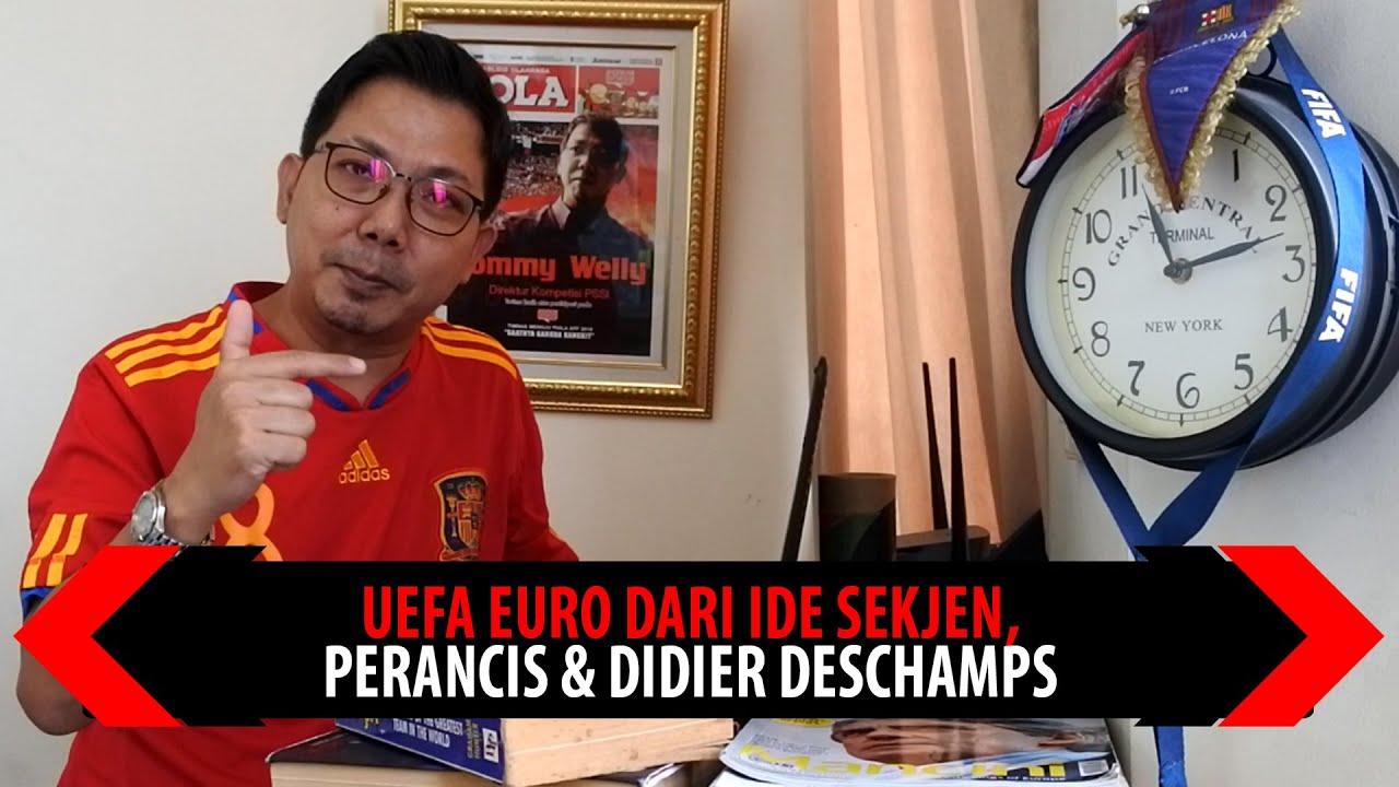 UEFA EURO DARI IDE SEKJEN, PERANCIS & DIDIER DESCHAMPS
