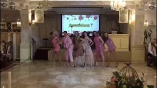Самый зажигательный танец подружек невесты 2018. Лобода - я суперзвезда