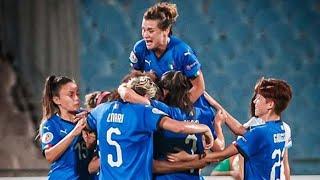 Highlights: Israele-Italia 2-3 - Femminile (29 agosto 2019)