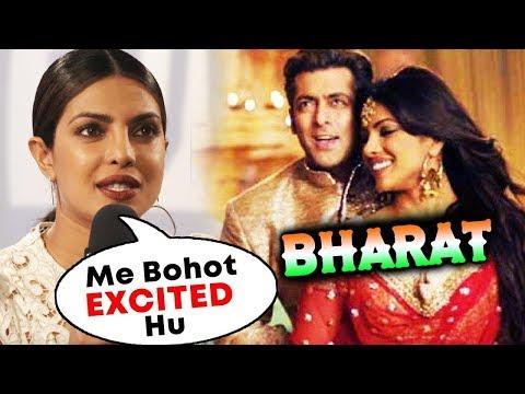 Priyanka Chopra Reaction On Working With Salman Khan In BHARAT
