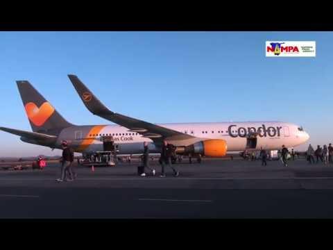NAMPA: HKIA Condor Airline serves WHK/Munich route 08 JUL 2016