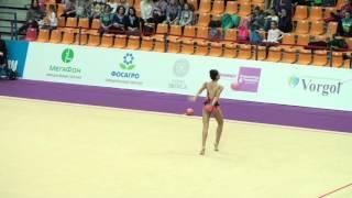 Sagalieva Kamila, Kyrgyzstan, ball. Alina Cup 2016