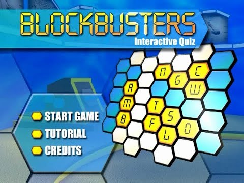 Blockbusters (UK) - DVD Game opening titles, graphics, and credits