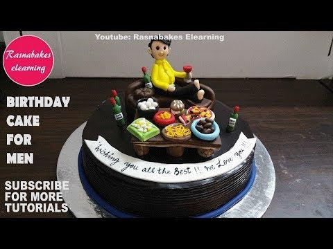 Birthday Cake For Mencakes Men Ideas Design Decorating Tutorial Video