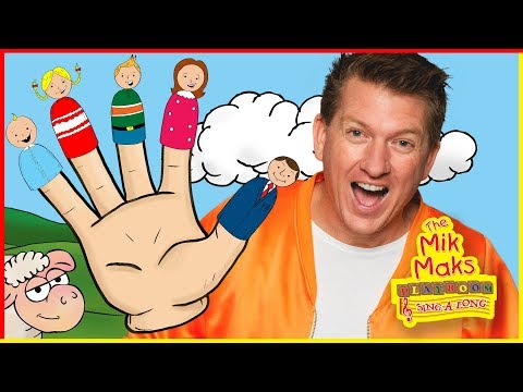 The Finger Family Song   Nursery Rhymes Sing-a-long With Al   Music For Children