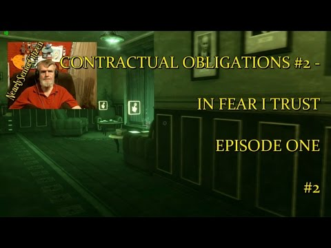 CONTRACTUAL OBLIGATIONS #2 - IN FEAR I TRUST EPISODE ONE #2 |