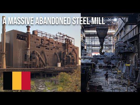 URBEX   Exploring a massive abandoned steel mill