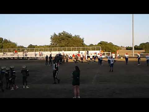 Desoto West Football vs Reed middle school Duncanville  7th grade A team part 3