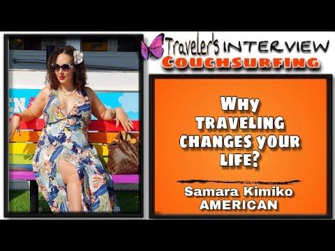 American Couchsurfing Experience Samara Kimiko | Fiona Solis