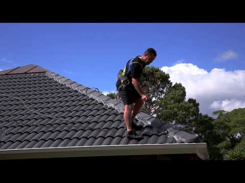 Concrete Roof — Painting Roof Tiles (Part 4)