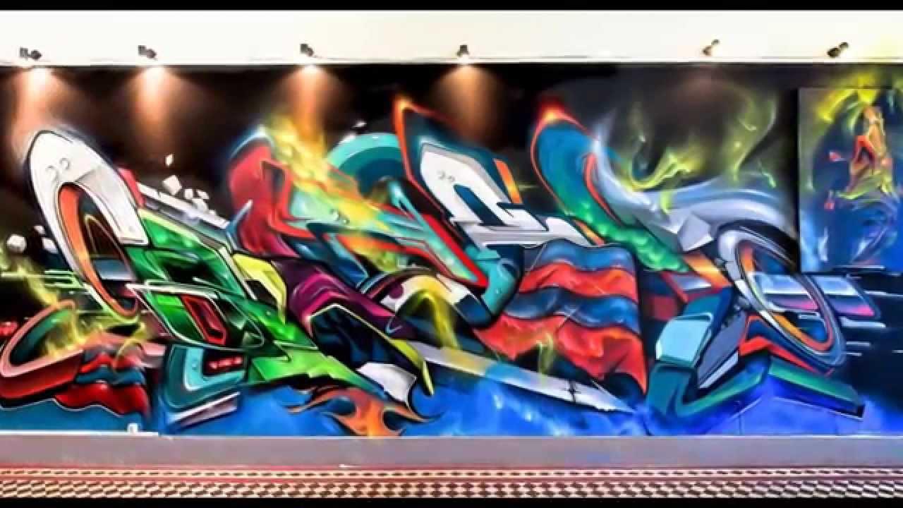Bray graffiti ironlak team