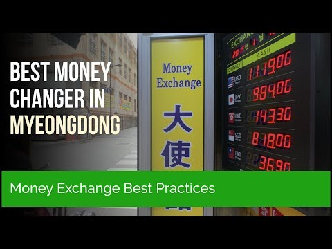 We Always Go to This Money Exchange Place 💰 in Myeongdong Seoul 🇰🇷