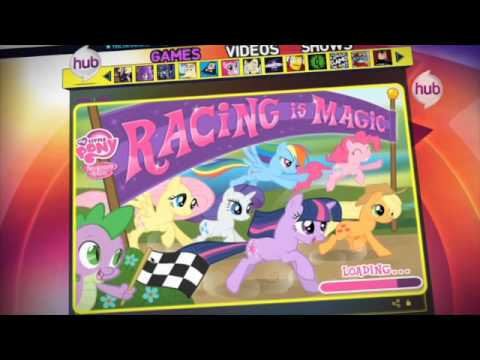 my little pony friendship is magic racing is magic game hub