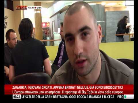 Reportage Zagabria di Renato Coen