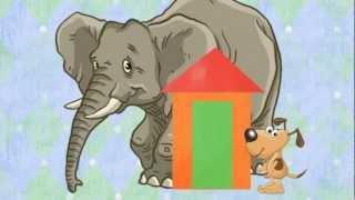 Зоопарк. Развивающий мультик для детей (мультфильм)(размеры и размерные соответствия - больше и меньше - подходящие и неподходящие размеры - цвета и ассоциации..., 2012-09-15T08:58:58.000Z)