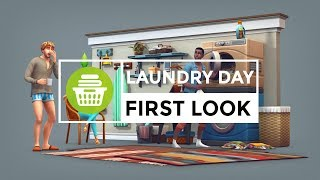 The Sims 4 || Laundry Day Stuff Pack First Look! || #EAGameChangers