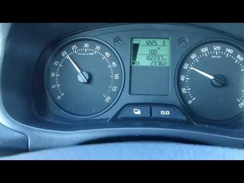 Skoda Fabia Wagon 2012 1.6 TDI 90HP Acceleration Test