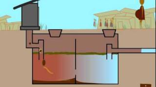 How a septic tank works(This video was developed by Judith Torzillo for Healthabitat, to help explain the process of how a septic tanks works, what the by products are good for and the ..., 2011-09-02T02:51:50.000Z)