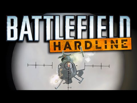 Battlefield Hardline Funny Moments - Sniping Pilots, Pregnant Helicopter, Drunk Soldiers! (FUNTAGE!)
