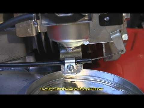 Repairing Lawn Mowers For Profit Part 21 ( Draining A Bowl Type Carburetor)