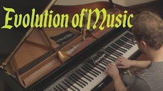 Evolution of Music on Piano