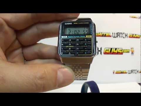 Casio Digital Invader Game Calculator Watch CA-503