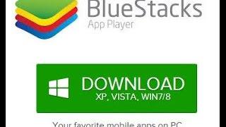 Como baixar e instalar bluestacks pelo windows 7,8,8.1,10 também instalar o whatsapp