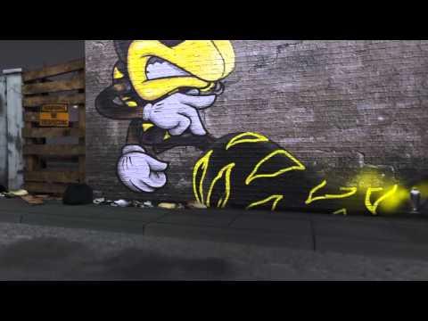 Kingspray Graffiti Simulator - Playback - Dank