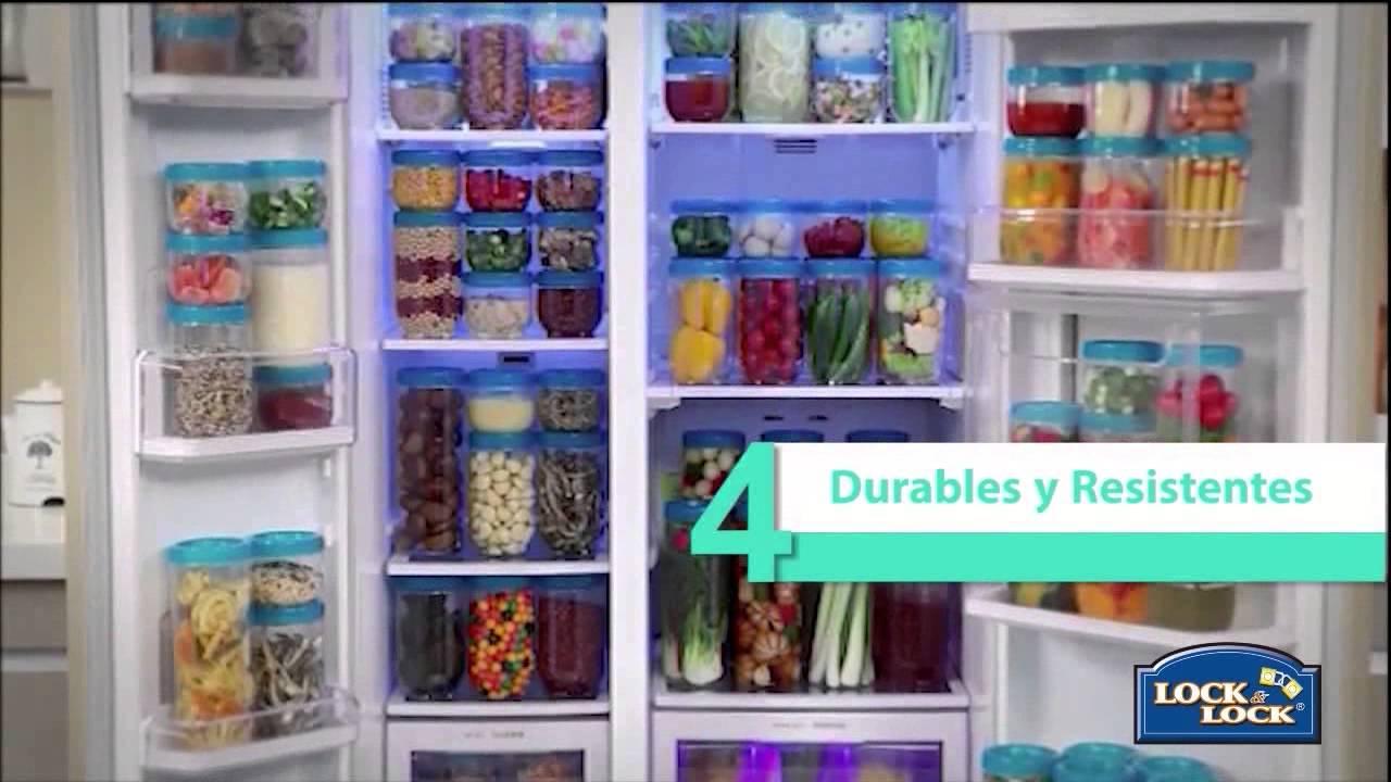 Envases para la organizaci n de su refrigerador interlock for Como ordenar la nevera