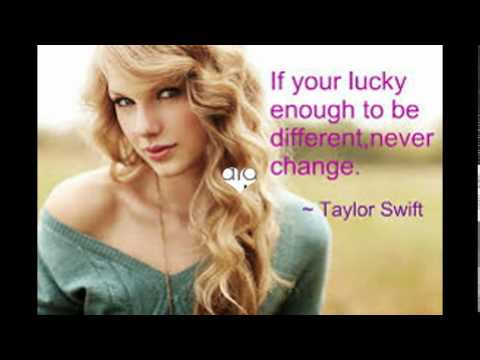 Taylor Swift beautiful quotes