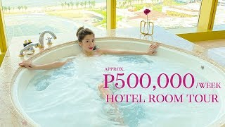 ₱60,000 a night HOTEL ROOM TOUR